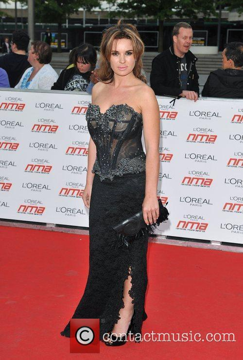 Kierston Wareing National Movie Awards held at the...