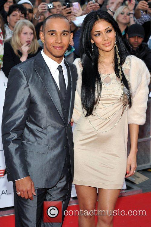 Lewis Hamilton and Nicole Scherzinger 9