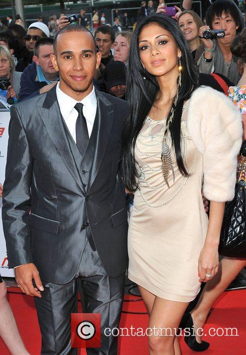 Lewis Hamilton and Nicole Scherzinger 16