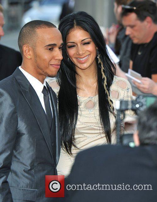 Lewis Hamilton and Nicole Scherzinger 14