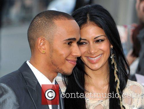 Lewis Hamilton and Nicole Scherzinger 18