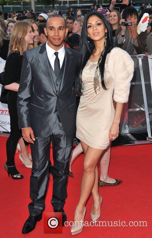 Lewis Hamilton and Nicole Scherzinger 13