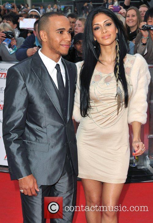 Lewis Hamilton and Nicole Scherzinger 15