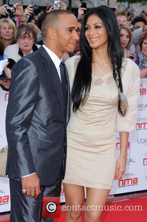Lewis Hamilton and Nicole Scherzinger 19