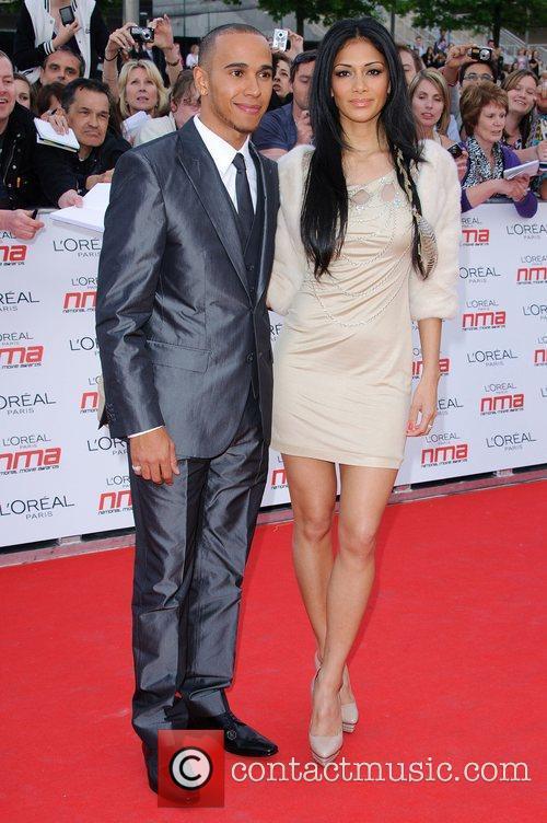 Lewis Hamilton and Nicole Scherzinger 24