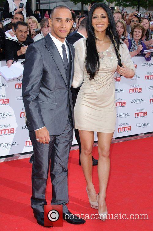 Lewis Hamilton and Nicole Scherzinger 21
