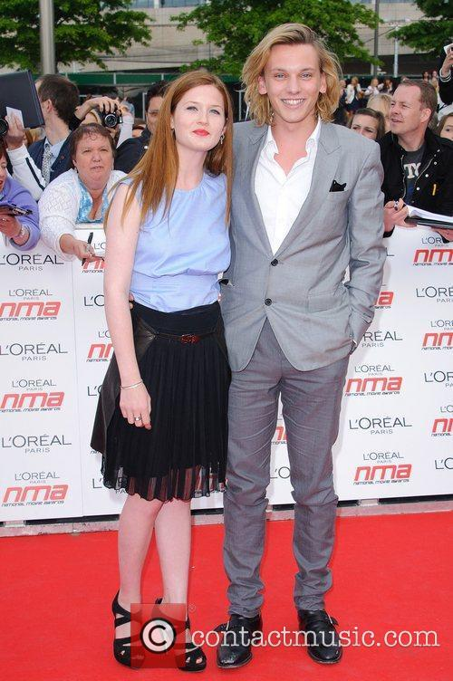 Bonnie Wright and Jamie Campbell Bower 3