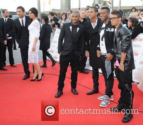 JLS,  National Movie Awards held at the...