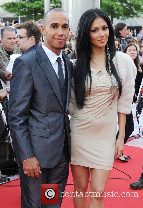 Lewis Hamilton and Nicole Scherzinger 27