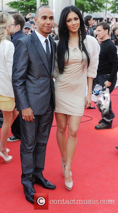 Lewis Hamilton and Nicole Scherzinger 25