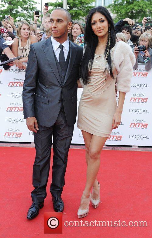 Lewis Hamilton and Nicole Scherzinger 26