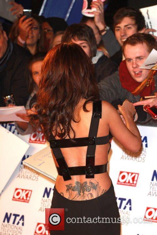Cherl Cole The National Television Awards 2011 (NTA's)...