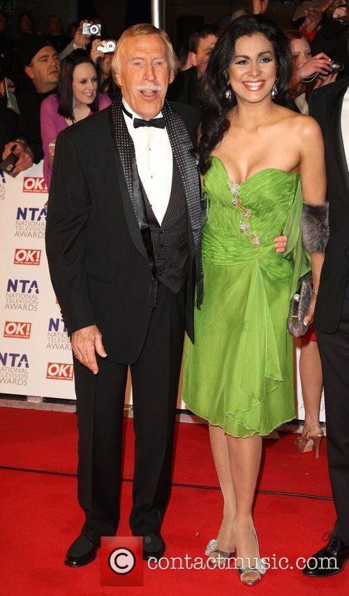 Bruce Forsyth, with his wife Wilnelia Merced The...