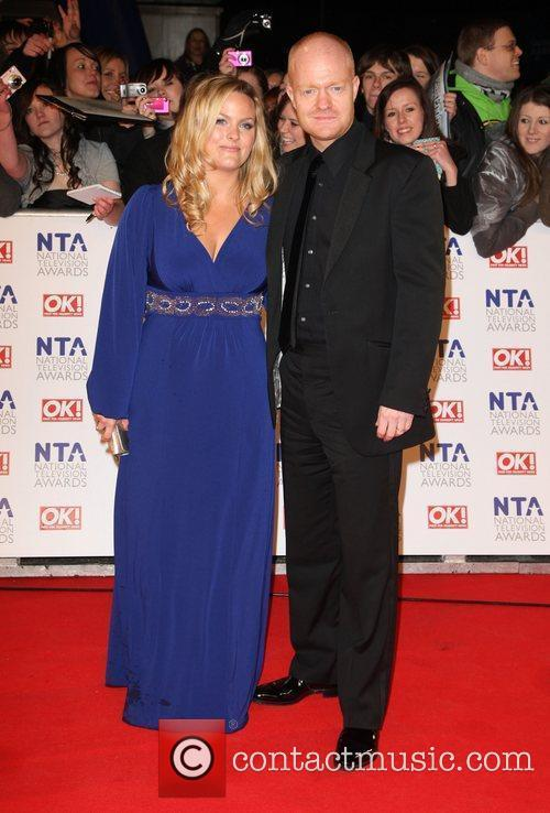 Jo Joyner and  The National Television Awards...