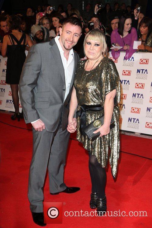 Tina Malone and husband Paul Chase The National...