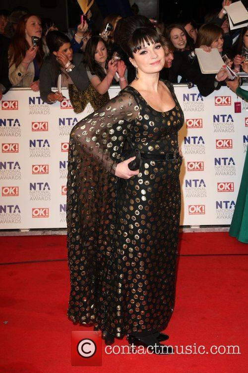Gizzi Erskine The National Television Awards 2011 (NTA's)...