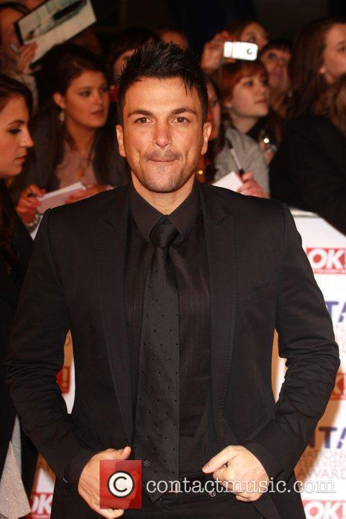 Peter Andre The National Television Awards 2011 (NTA's)...
