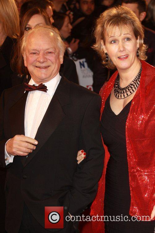 David Jason with his wife The National Television...
