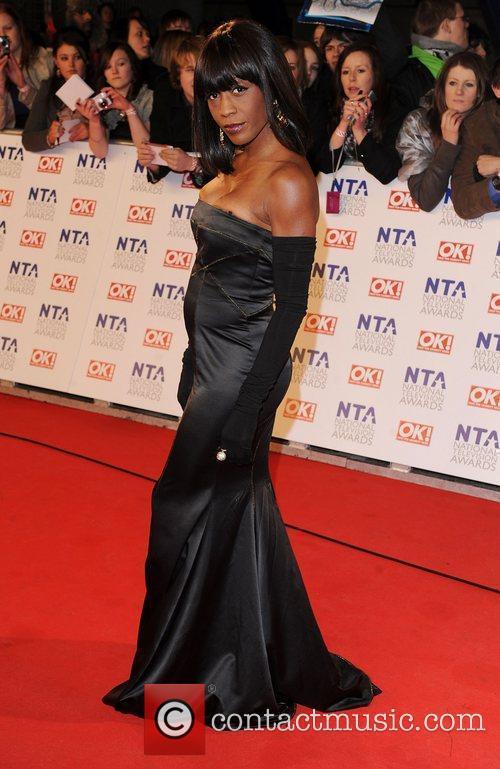 Diane Parish The National Television Awards 2011 (NTA's)...