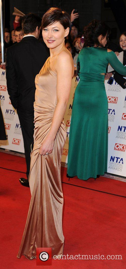 Emma Griffiths  The National Television Awards 2011...