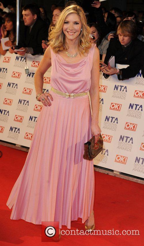 Lisa Faulkner The National Television Awards 2011 (NTA's)...