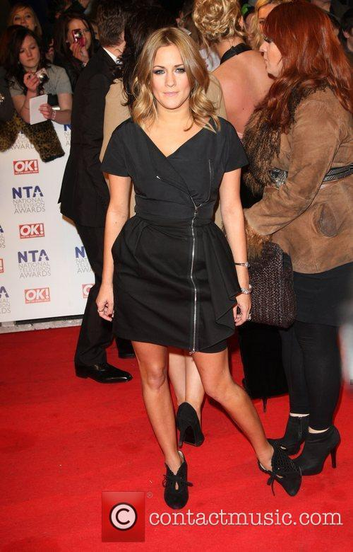 Caroline Flack The National Television Awards 2011 (NTA's)...