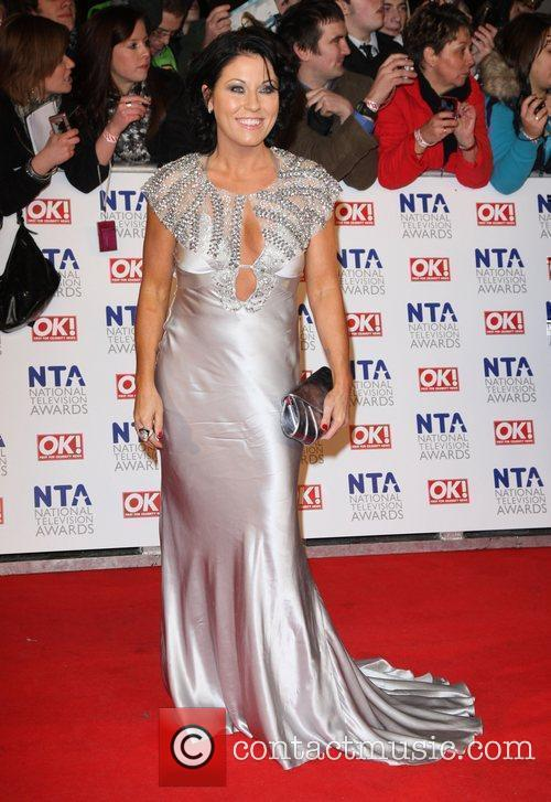 Jessie Wallace The National Television Awards 2011 (NTA's)...