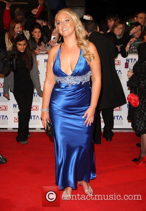 Josie Gibson The National Television Awards 2011 (NTA's)...