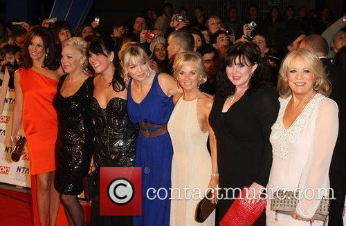 Loose Women The National Television Awards 2011 (NTA's)...