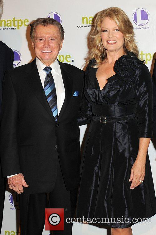 Regis Philbin and Mary Hart 4