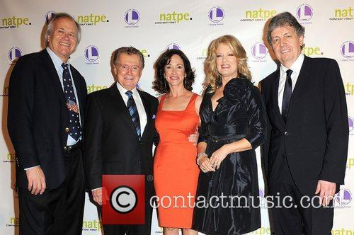 Regis Philbin, Lilly Tartikoff and Mary Hart 6