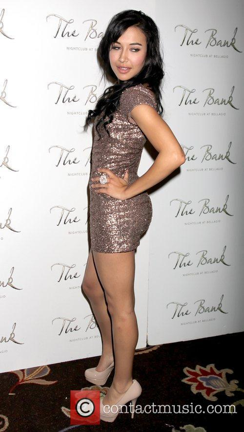Naya Rivera, Glee and Las Vegas 1