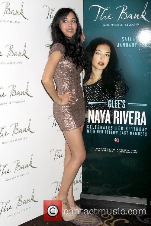 Naya Rivera, Glee and Las Vegas 3