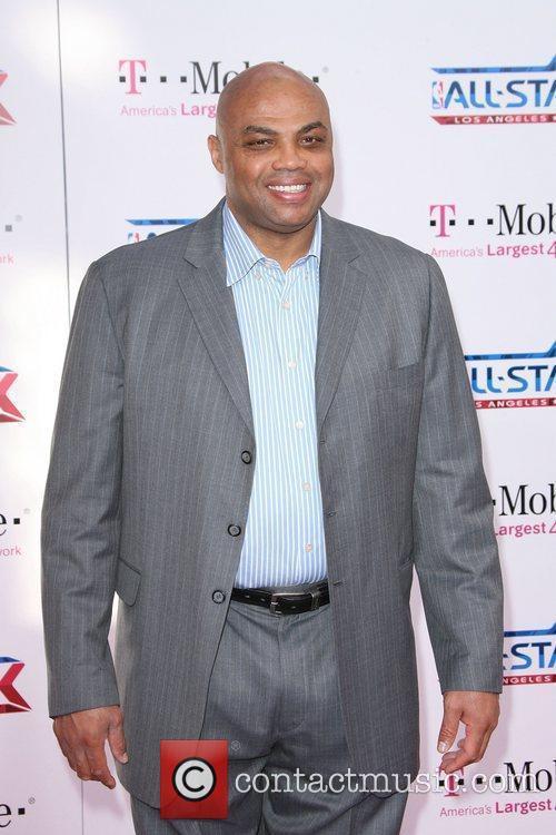Charles Barkley  T-Mobile Magenta Carpet At The...
