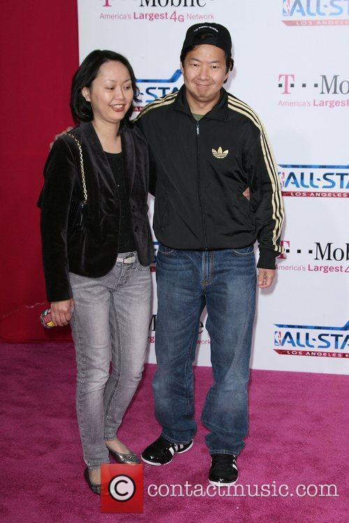 Ken Jeong T-Mobile Magenta Carpet At The 2011...