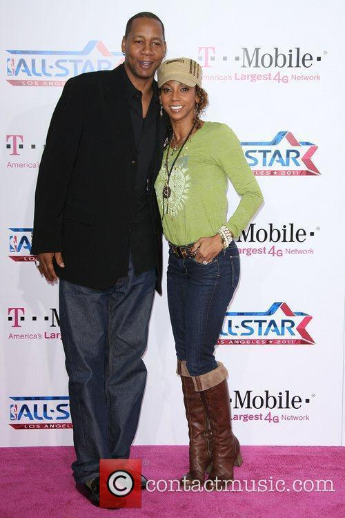 Mark Curry and Holly Robinson Peete 4