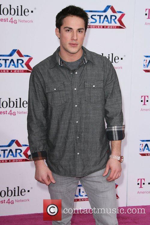 Michael Trevino T-Mobile Magenta Carpet At The 2011...