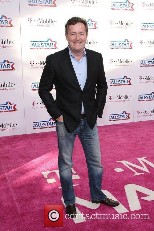 Piers Morgan T-Mobile Magenta Carpet At The 2011...