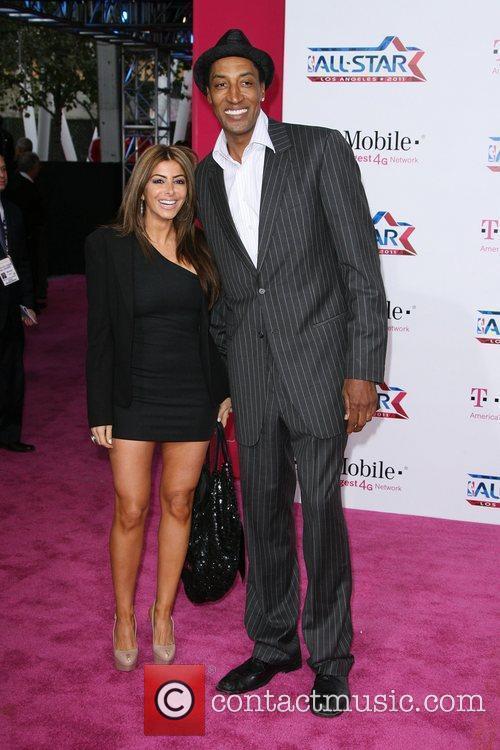 Scottie Pippen  T-Mobile Magenta Carpet At The...