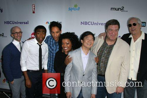 Community Cast, NBC Press Tour Party