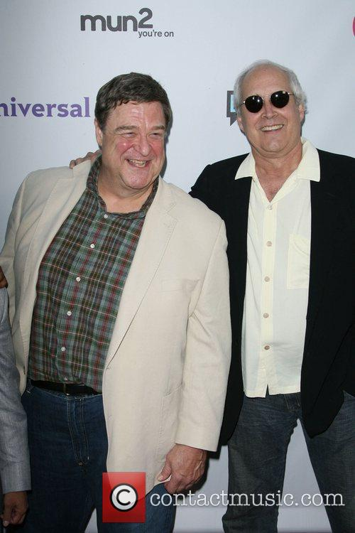 John Goodman and Chevy Chase NBC Press Tour...