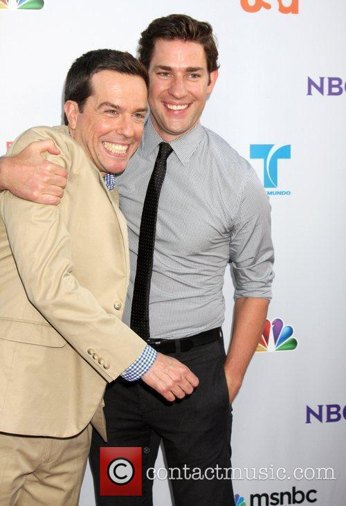 Ed Helms and John Krasinski The NBC TCA...