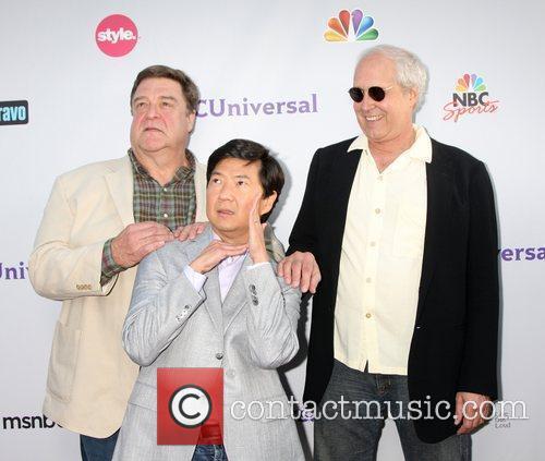John Goodman, Chevy Chase and Ken Jeong 4
