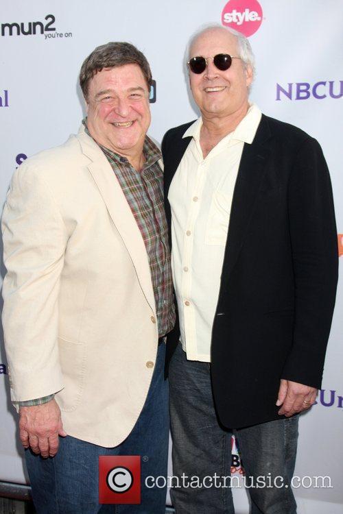 John Goodman and Chevy Chase 1