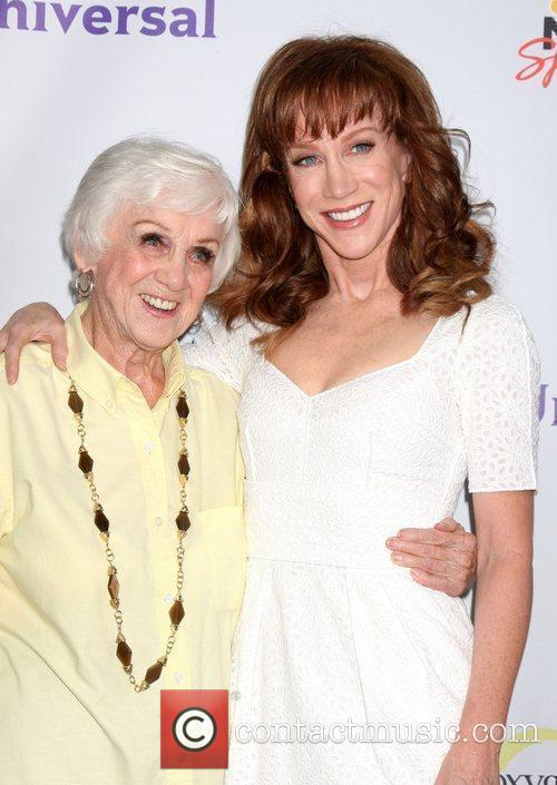 Kathy Griffin and her mother The NBC TCA...