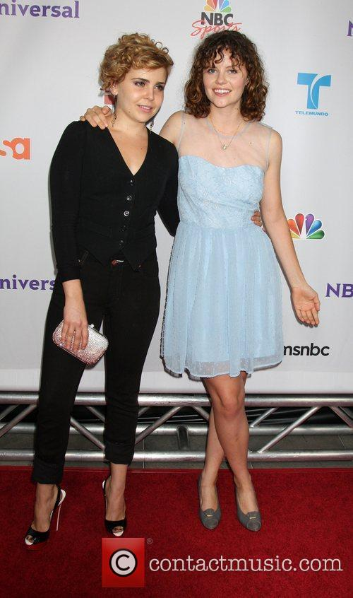 Mae Whitman and Sarah Ramos 2