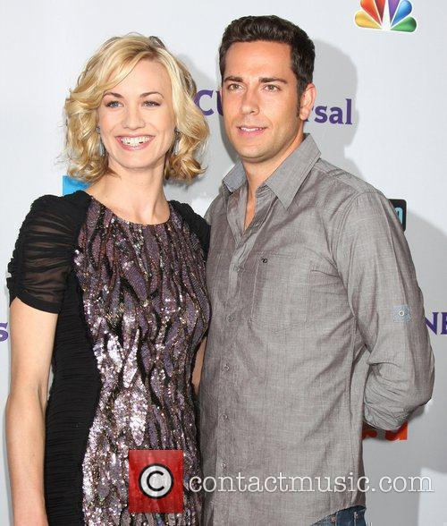 Yvonne Strahovski and Zachary Levi 3