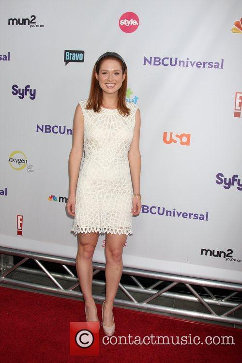 Ellie Kemper  Arriving at the NBC TCA...