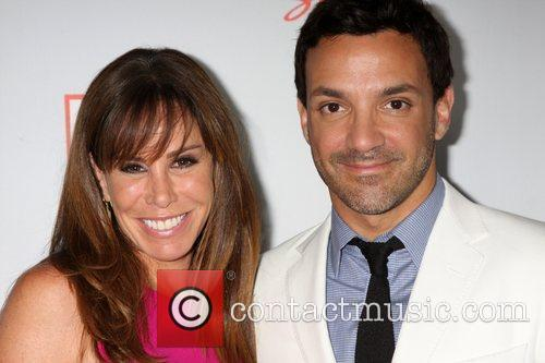 Melissa Rivers, George Kotsiopoulos  Arriving at the...