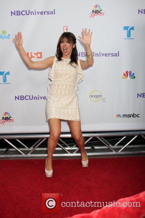 Natasha Leggero  Arriving at the NBC TCA...
